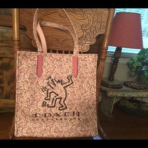 Coach Keith Haring Tote NWT!